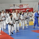 tournoi Sainghin 21 04 2012 échauffement Céline