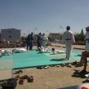 Animation judo fête du sport à Tomblaine 21/06/2014